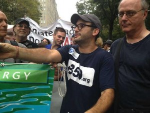 DCS at the NYC Climate March, Sept. 2014